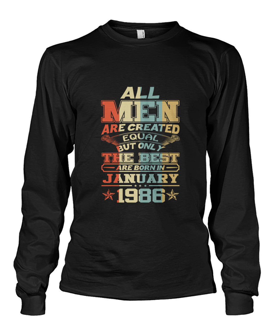All Men Are Created Equal Only Best Are Born January 1986