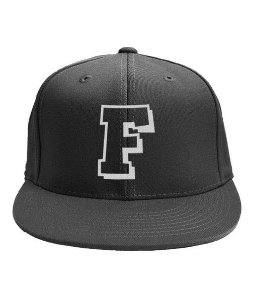 Golf hat proper F name-Apparel - AllGolfUSA.COM