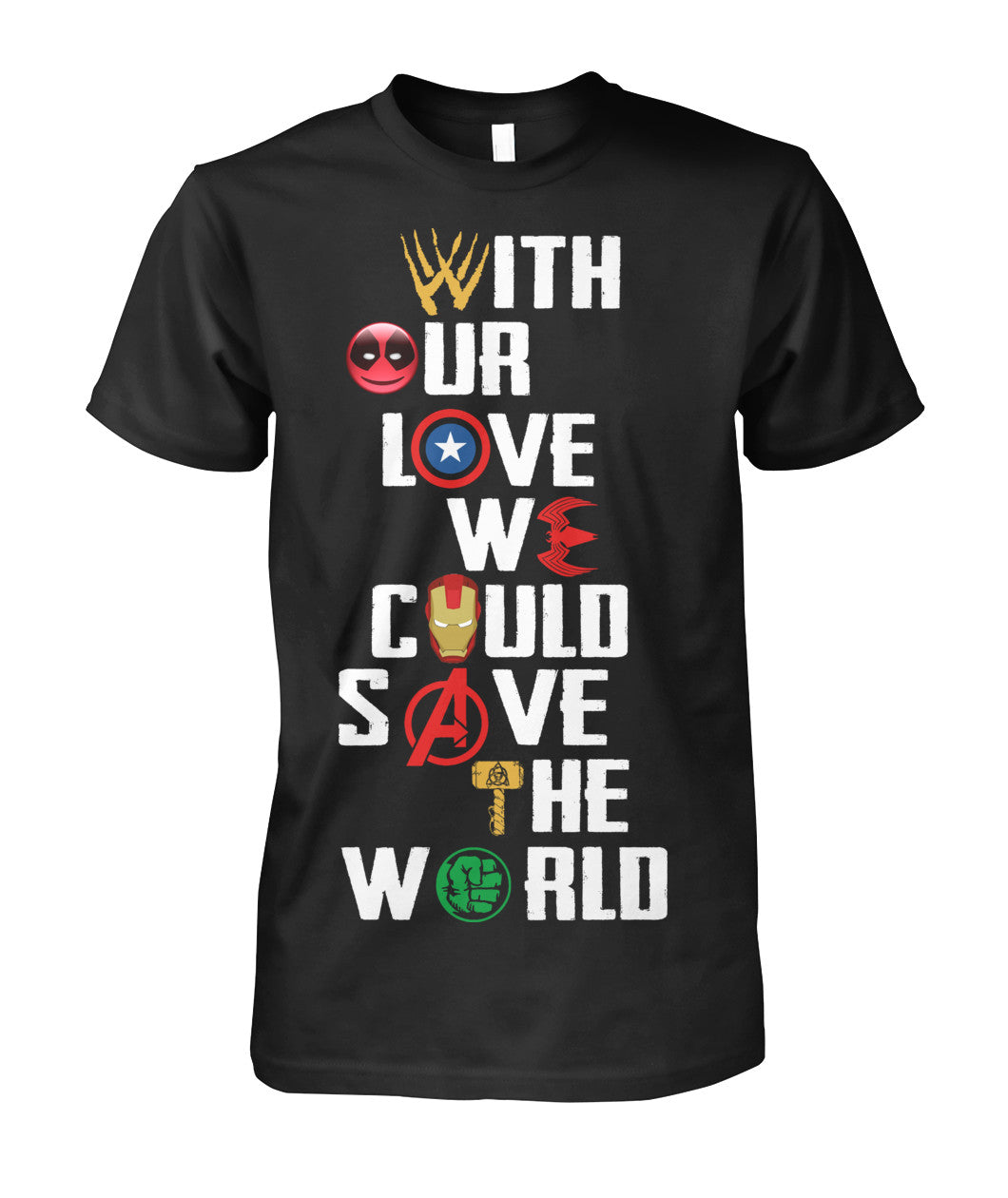 Save the world Marvel shirt 2018