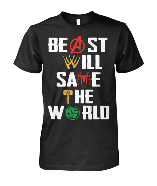 Beast and Beauty Couple Marvel shirt-Short Sleeves - AllGolfUSA.COM