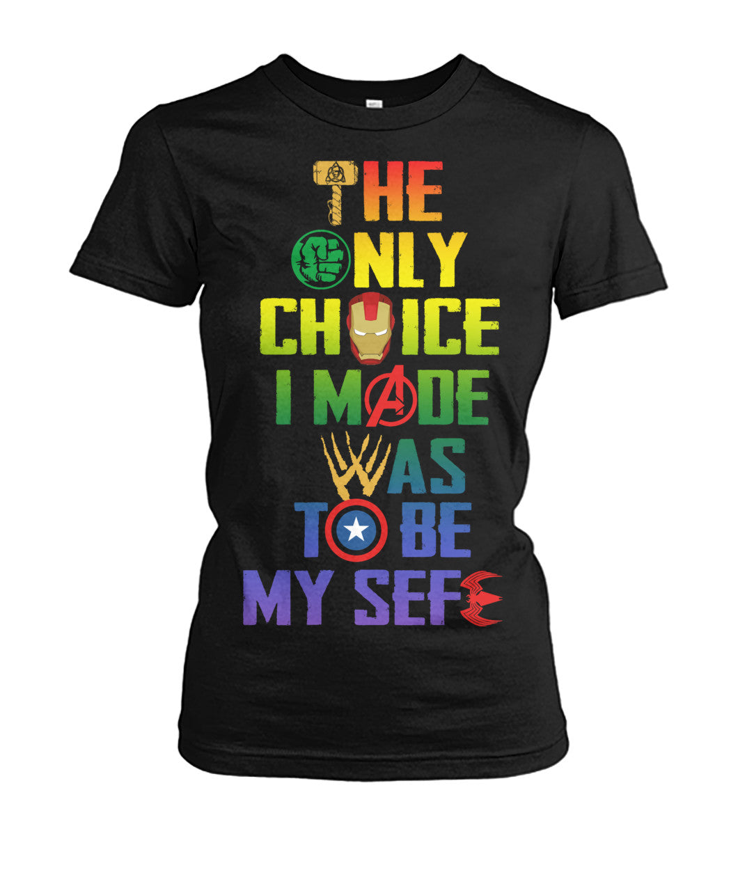 LBGT Couple Marvel Shirt 2018