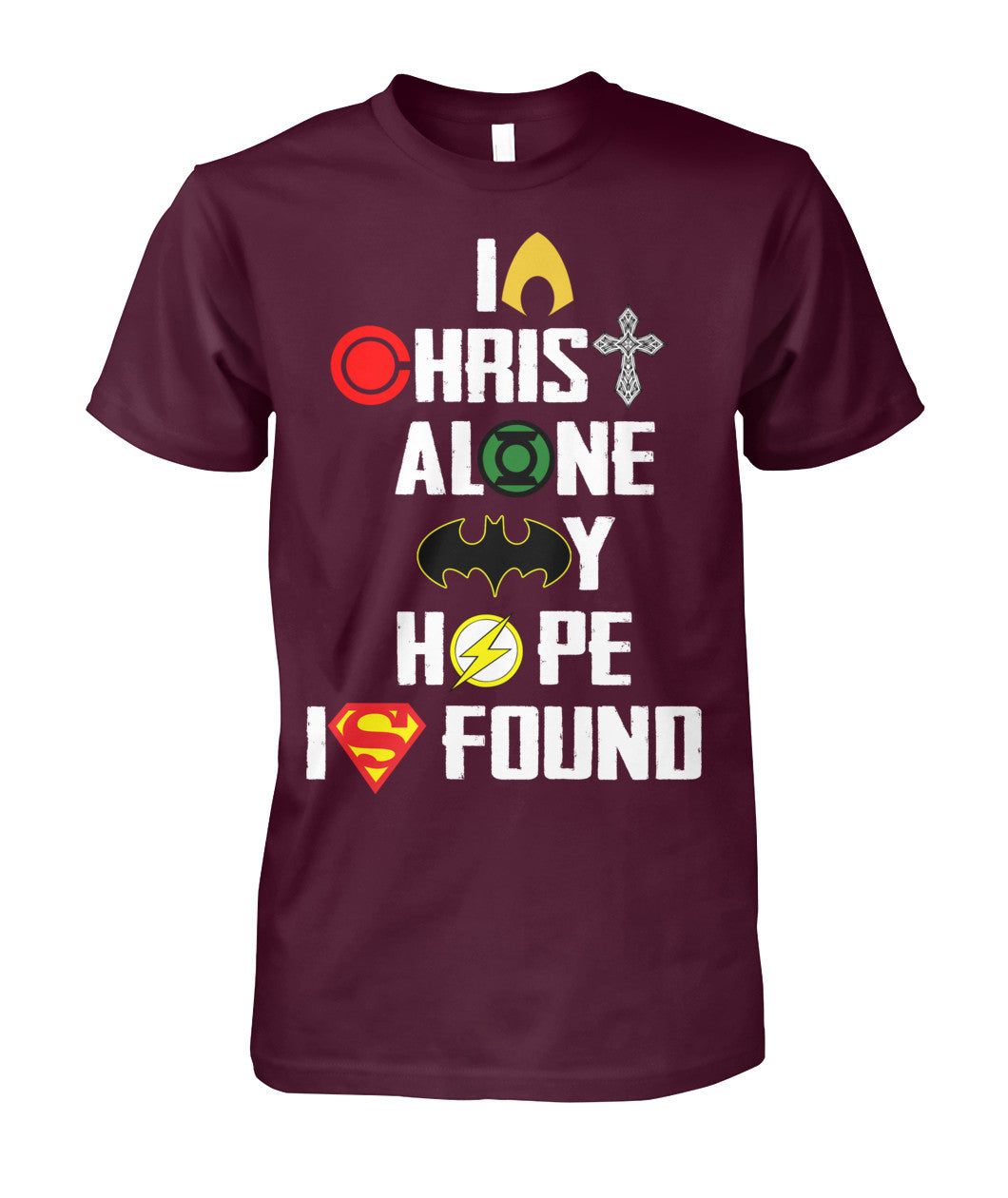 In Christ Alone DC Shirt 2018-Short Sleeves - TEEHOT.COM
