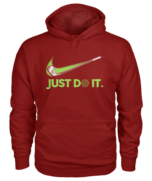 Just DO IT Golf shirt Gildan Hoodie-Hoodies - AllGolfUSA.COM