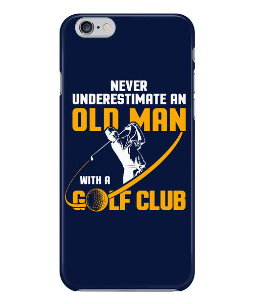 Old man golf club phone case-Non Apparel - AllGolfUSA.COM