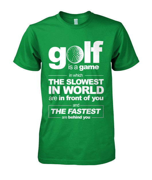 Golf is a game t-shirts-Apparel - AllGolfUSA.COM