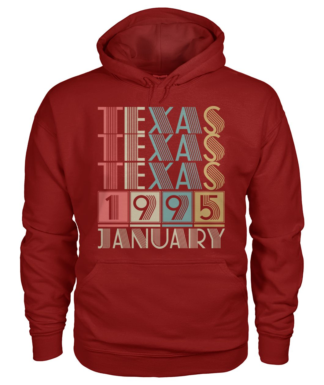 Born in Texas in January 1995 t shirt-Short Sleeves - TEEHOT.COM
