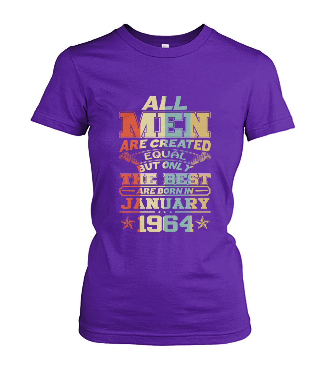 All Men Are Created Equal Only Best Are Born January 1964
