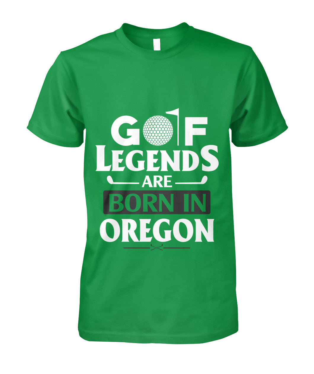 OREGON state golf shirt Unisex Cotton Tee-Short Sleeves - AllGolfUSA.COM
