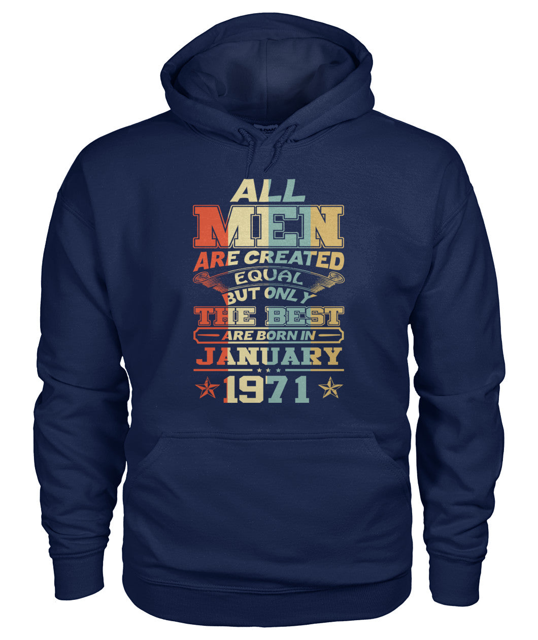 All Men Are Created Equal Only Best Are Born January 1971