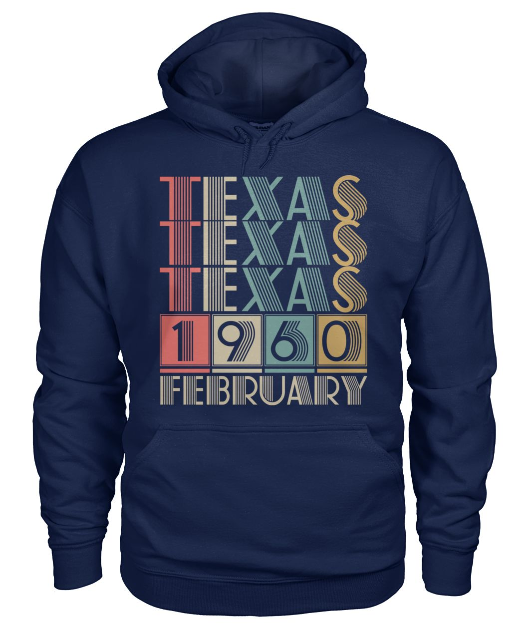 Born in Texas in February 1960 t shirt-Short Sleeves - TEEHOT.COM