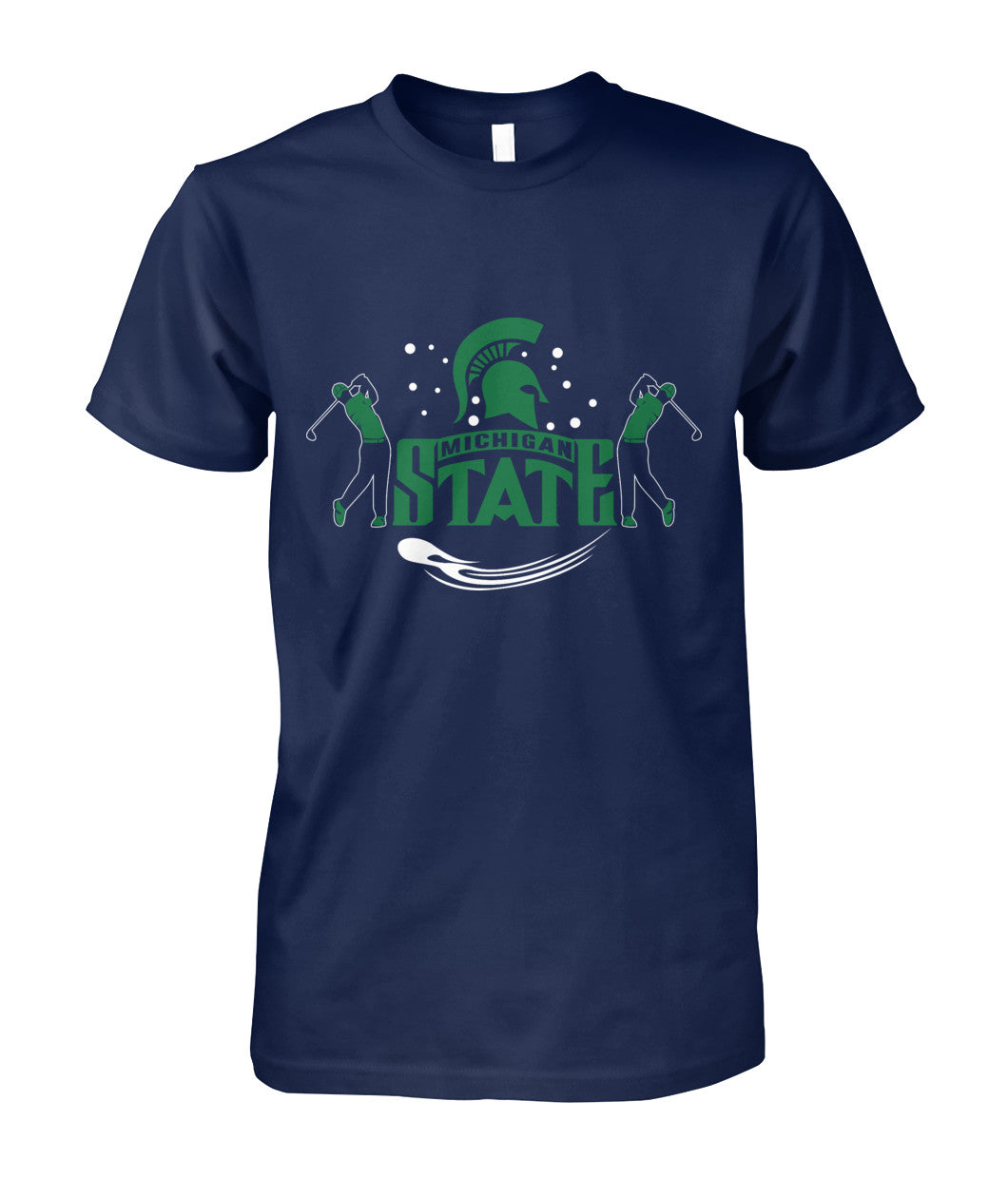 Michigan state funny golf shirt Unisex Cotton Tee-Short Sleeves - AllGolfUSA.COM
