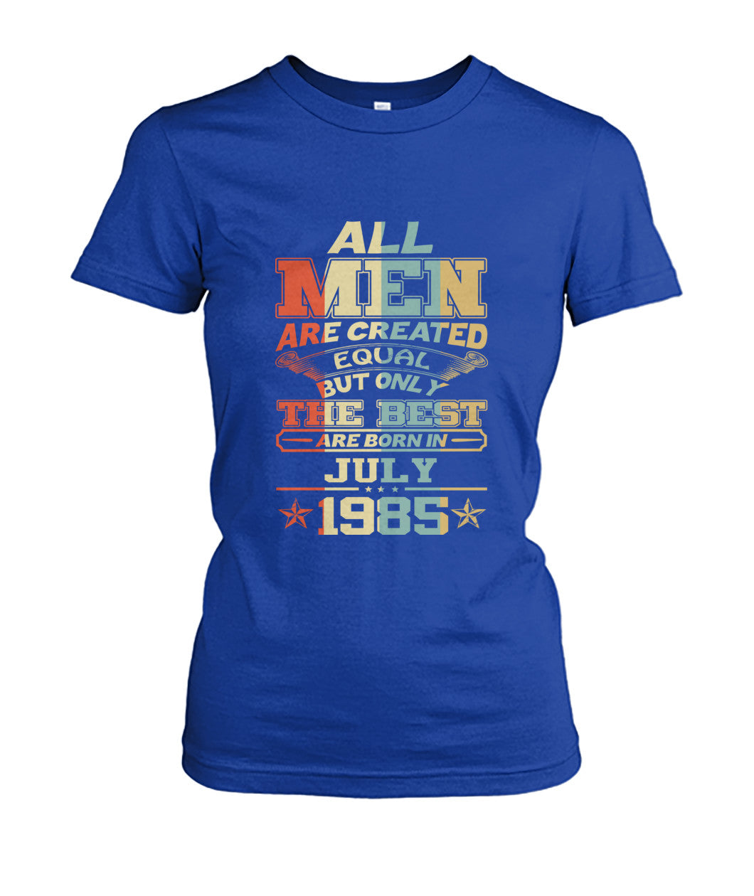 All Men Are Created Equal Only Best Are Born July 1985