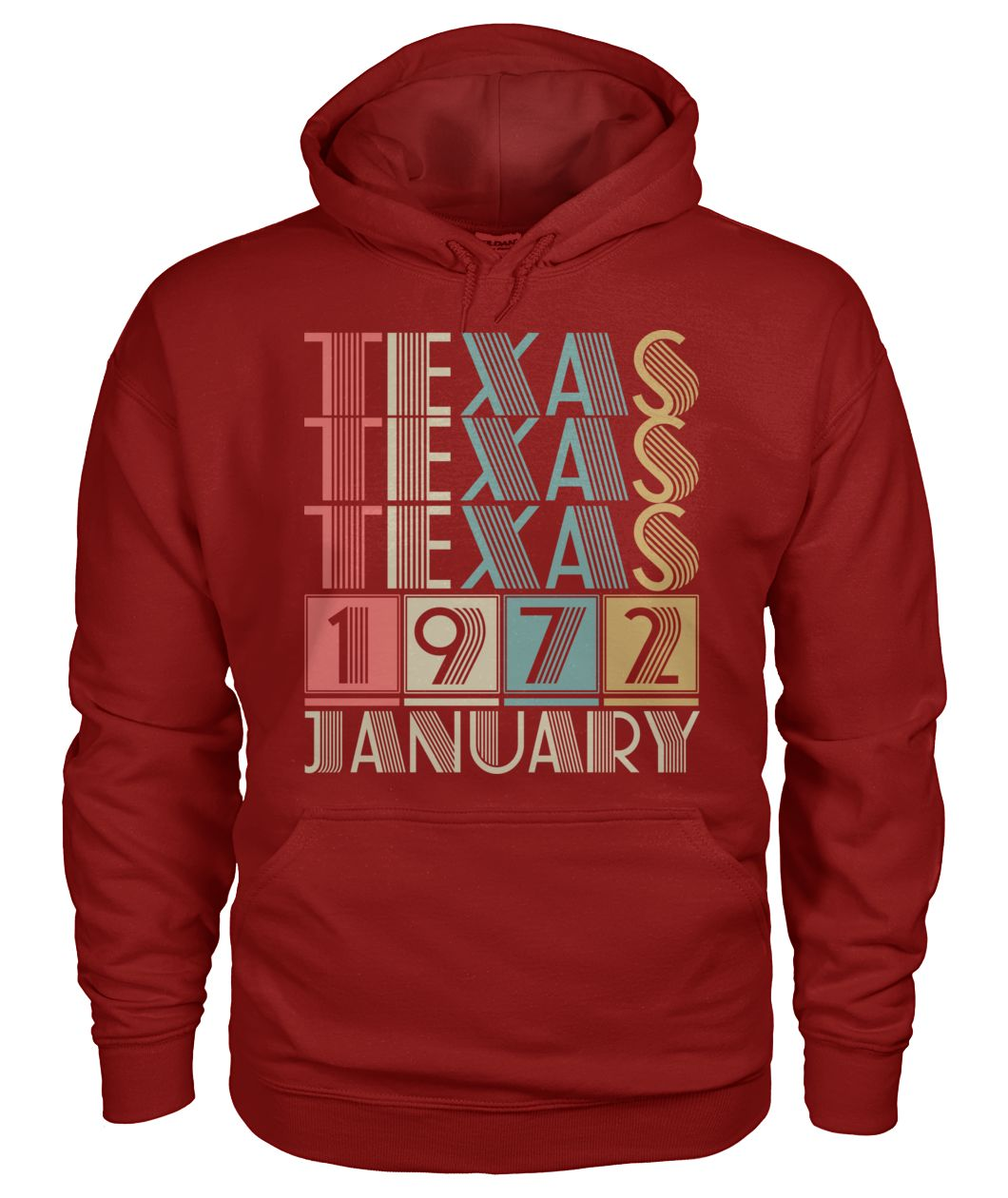 Born in Texas in January 1972 t shirt-Short Sleeves - TEEHOT.COM