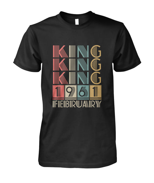 Kings Are Born February 1961-Short Sleeves - TEEHOT.COM