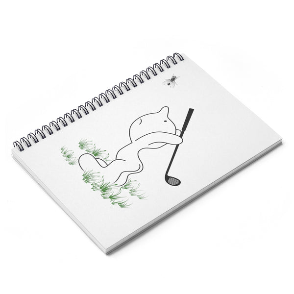 Funny Golf Spiral Notebook - Ruled Line-Paper products - AllGolfUSA.COM