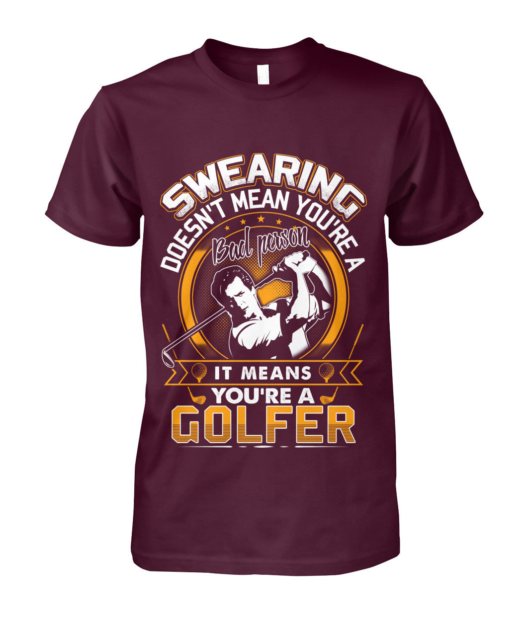 You are a golfer shirt-Apparel - AllGolfUSA.COM