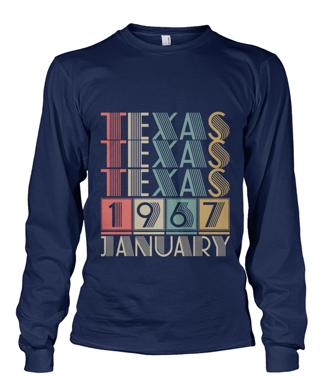 Born in Texas in January 1967 t shirt-Short Sleeves - TEEHOT.COM