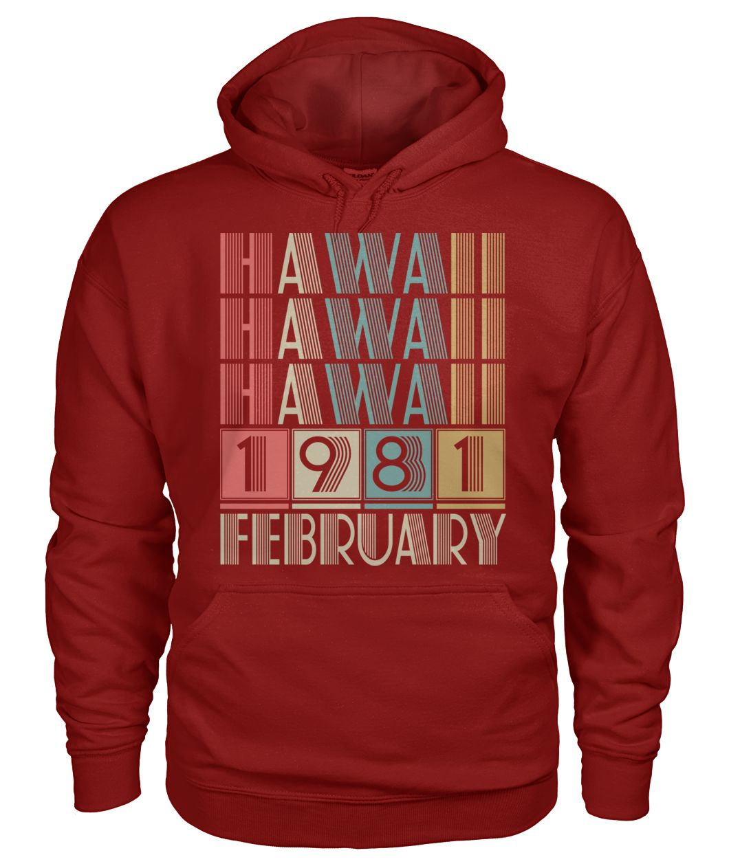 Born in Hawaii in February 1981 t shirt-Short Sleeves - TEEHOT.COM