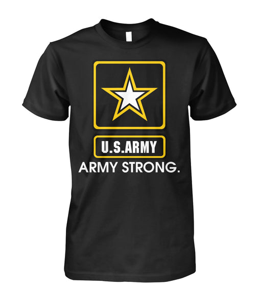 us army strong armed shirt-Short Sleeves - AllGolfUSA.COM