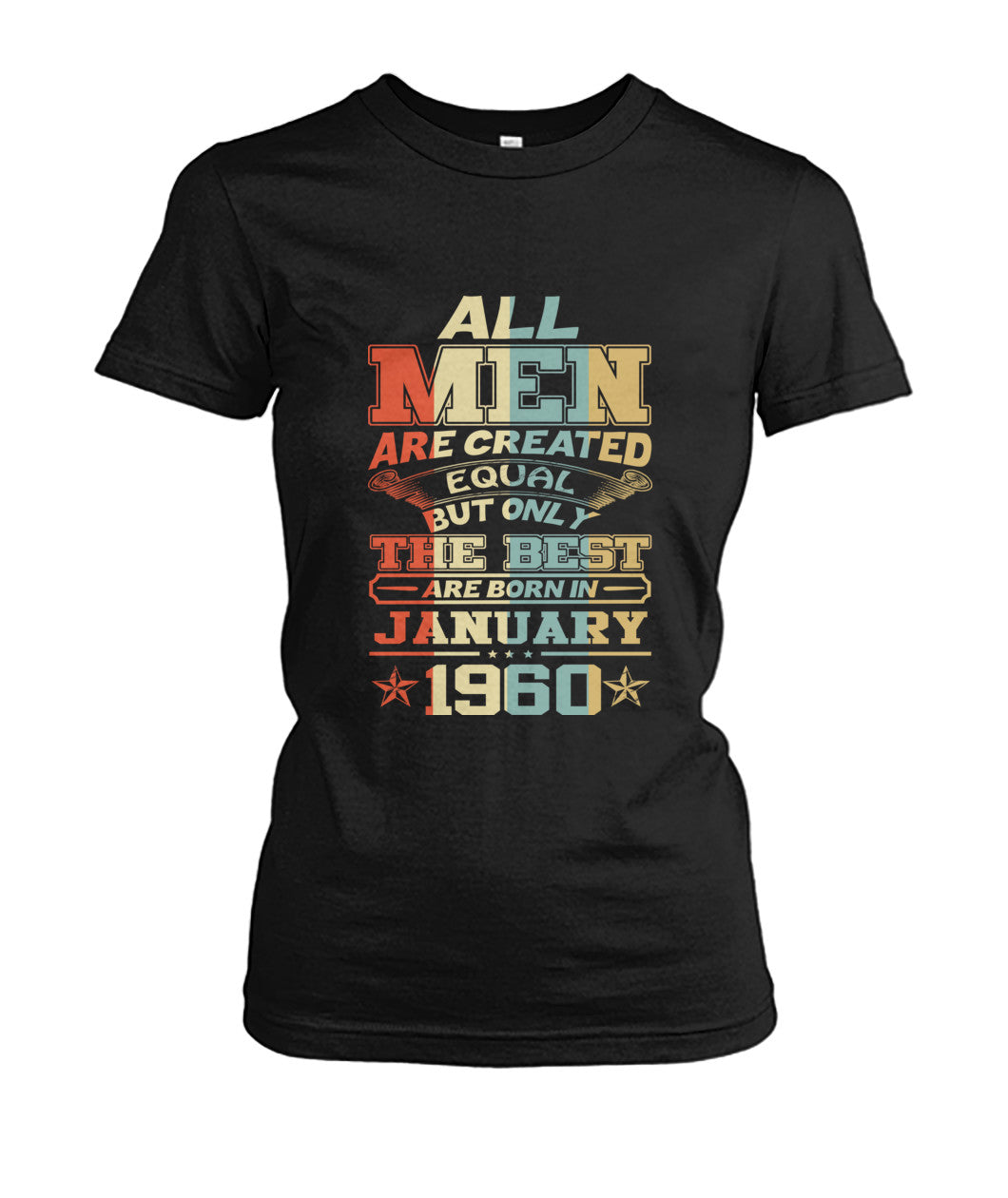 All Men Are Created Equal Only Best Are Born January 1960