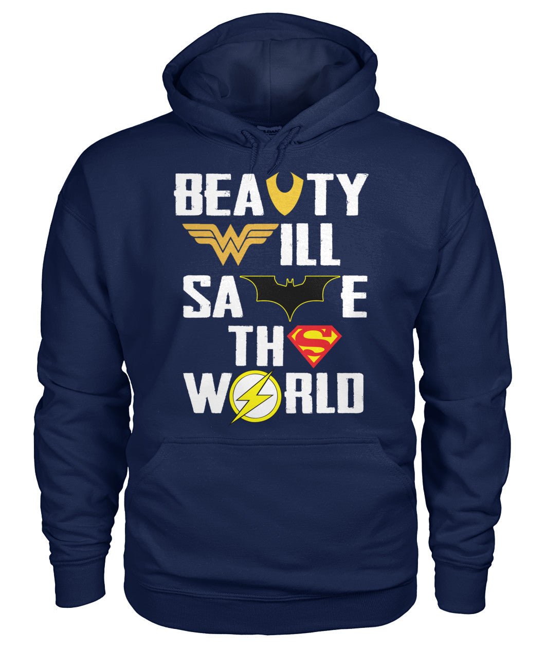 Beast and Beauty DC Shirt 2018-Short Sleeves - TEEHOT.COM