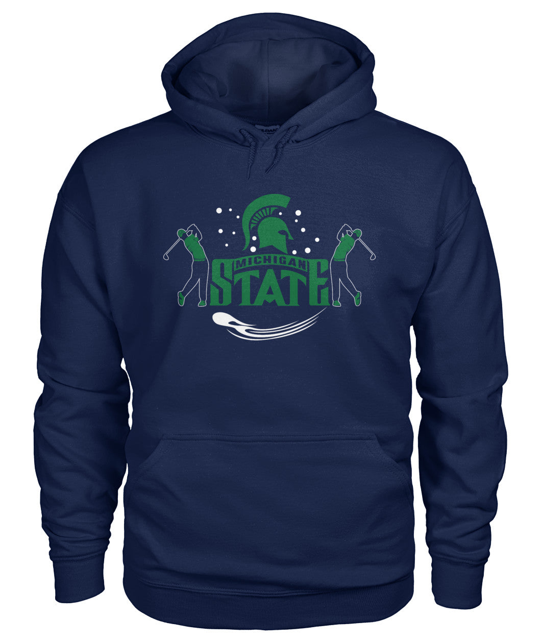 Michigan state funny golf shirt Gildan Hoodie-Hoodies - AllGolfUSA.COM