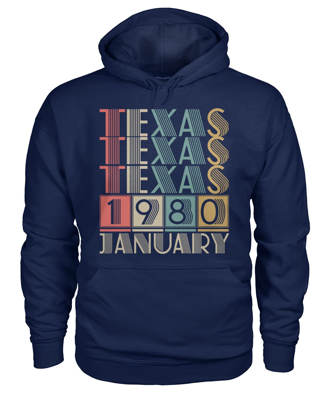 Born in Texas in January 1980 t shirt-Short Sleeves - TEEHOT.COM