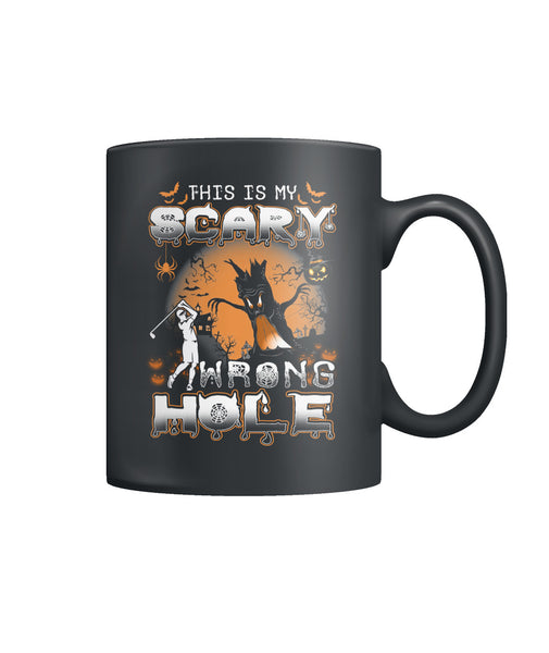 Funny Halloween Golf Color Coffee Mug-Drinkware - AllGolfUSA.COM