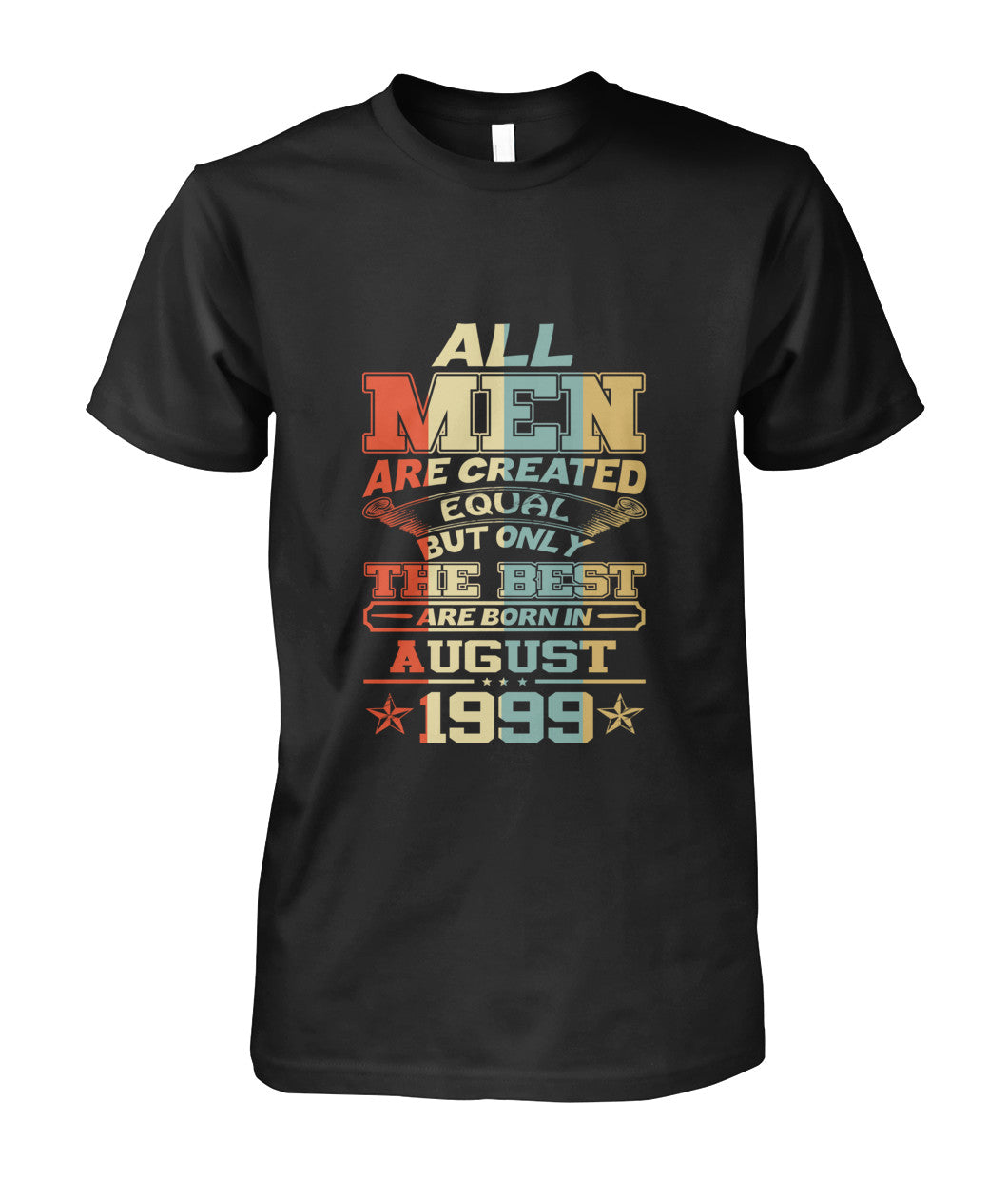 All Men Are Created Equal Only Best Are Born August 1999