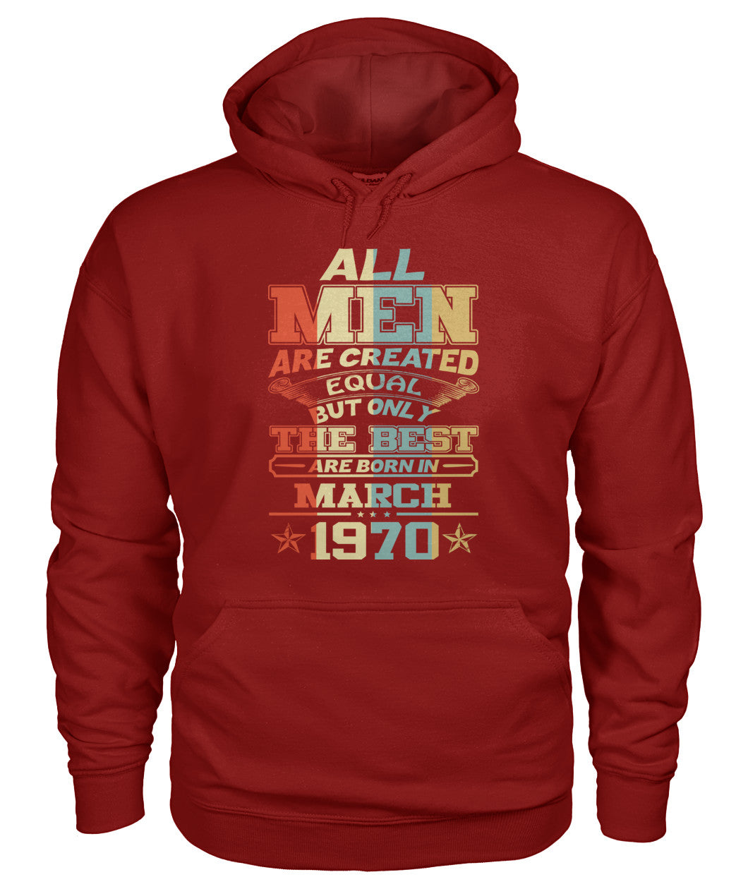 All Men Are Created Equal Only Best Are Born March 1970