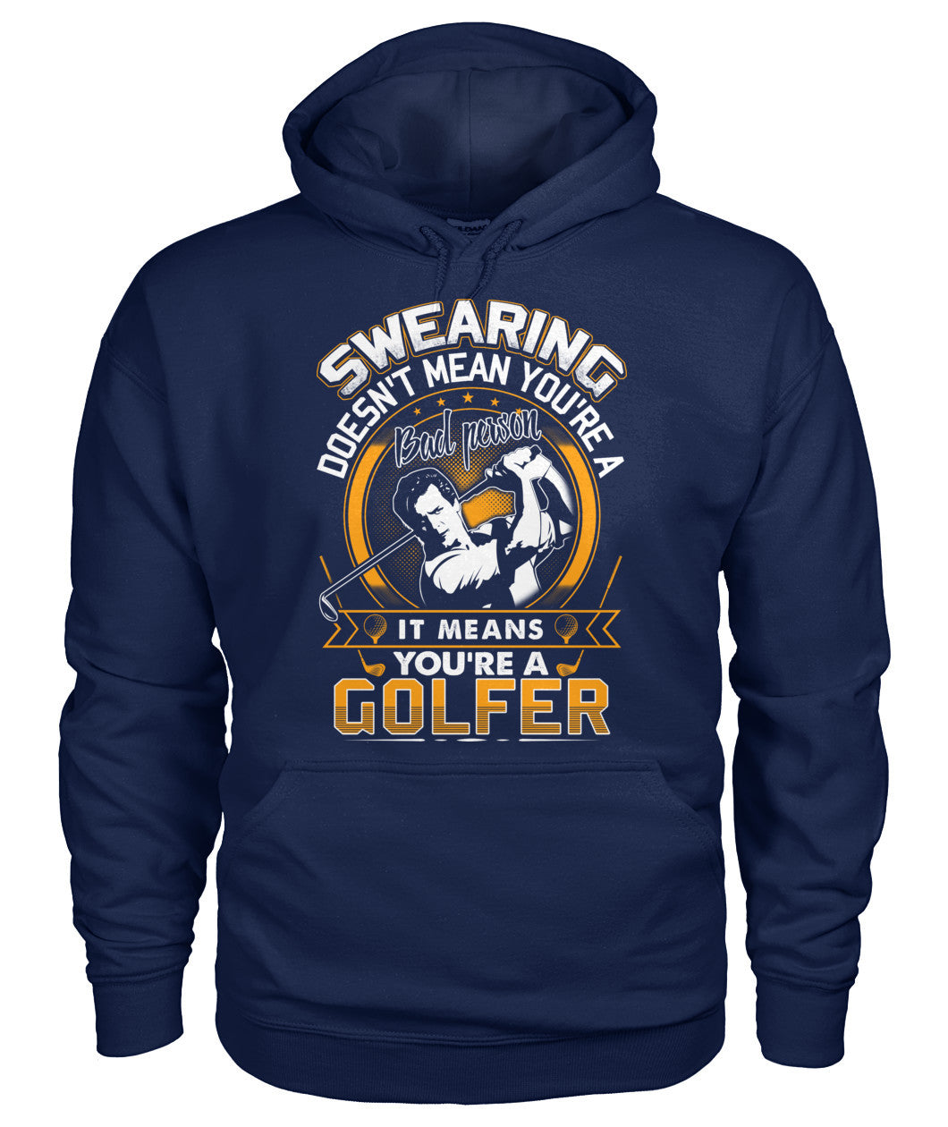 You are a golfer shirt