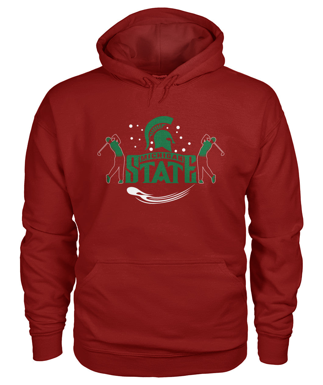 Michigan state funny golf shirt Gildan Hoodie