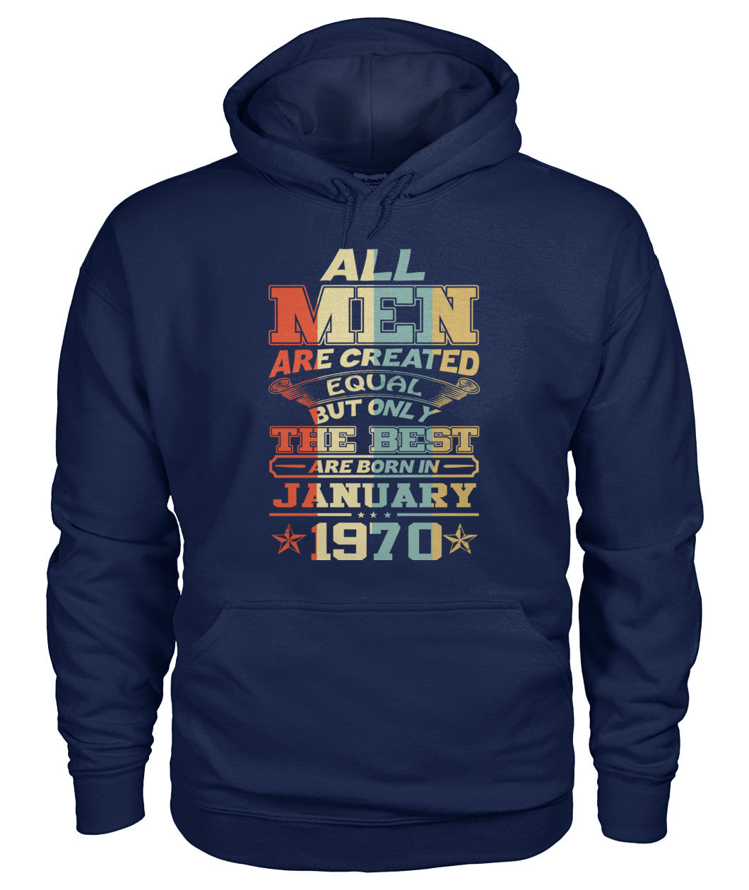 All Men Are Created Equal Only Best Are Born January 1970
