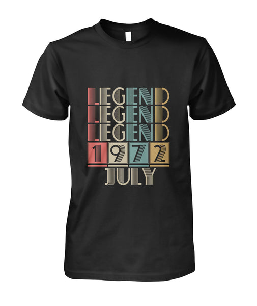 Legends Are Born July 1972