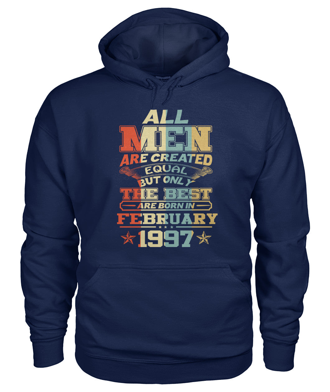 All Men Are Created Equal Only Best Are Born February 1997