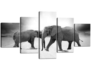 African Animal Artwork Home Decor Room HD Canvas Print Picture Wall Art Painting