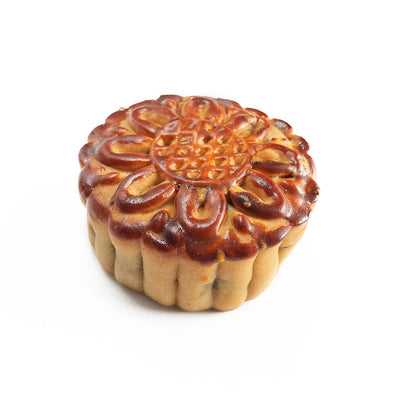 Red Bean & Walnut Moon Cake 豆沙核桃