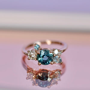 diamond engagement ring handmade engagement ring fine jewelry