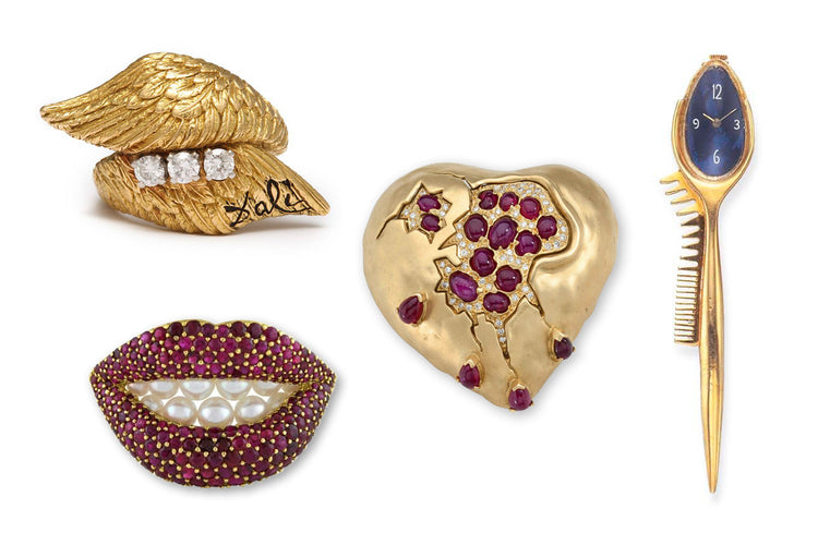 Precious jewellery by Salvador Dali