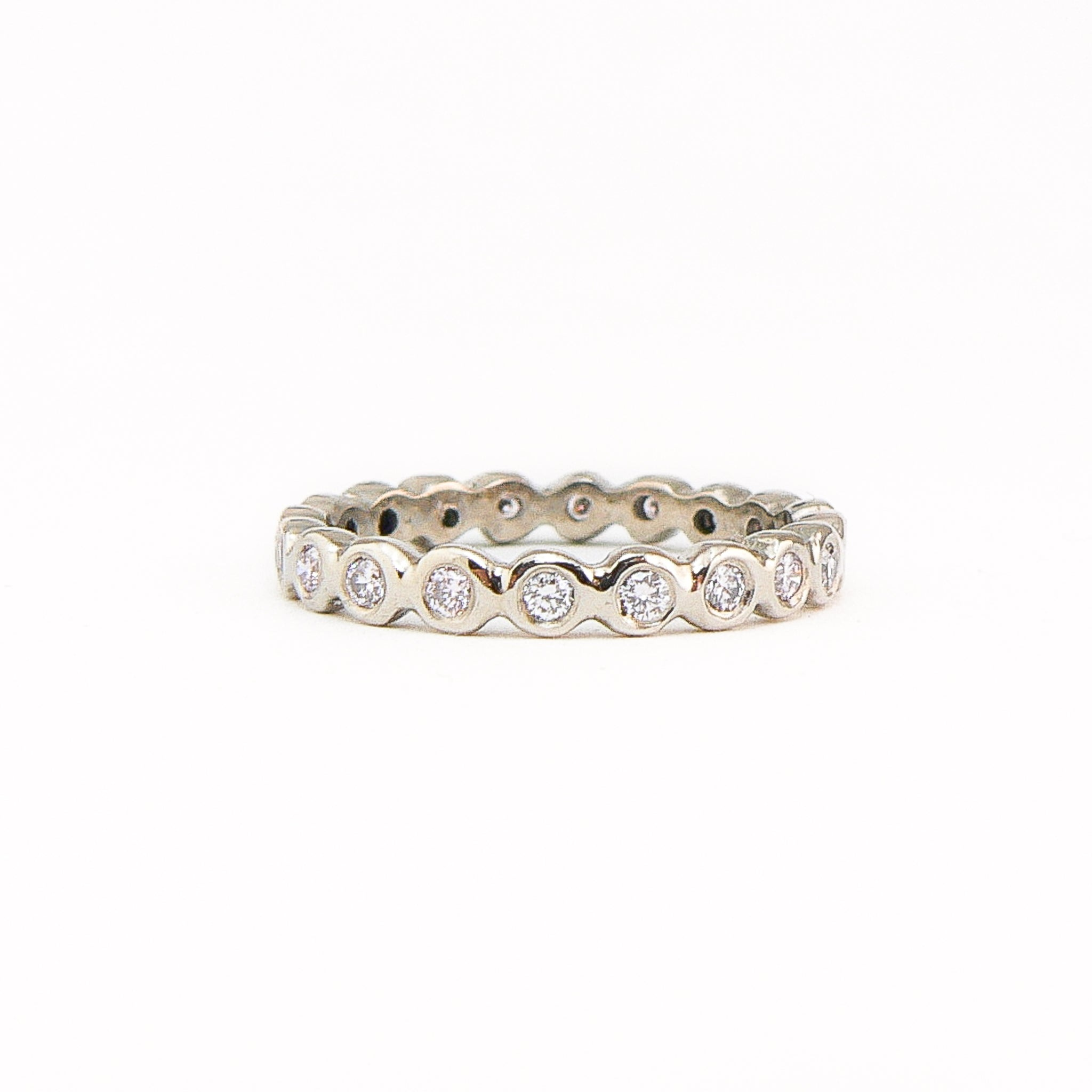 Blue Moon Eternity Ring