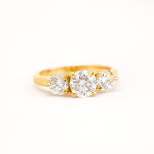 Skyward Diamond Ring