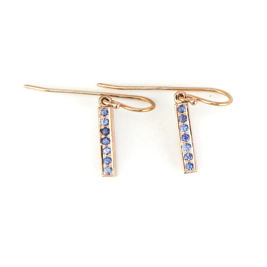 Blue Sapphire Modern earrings