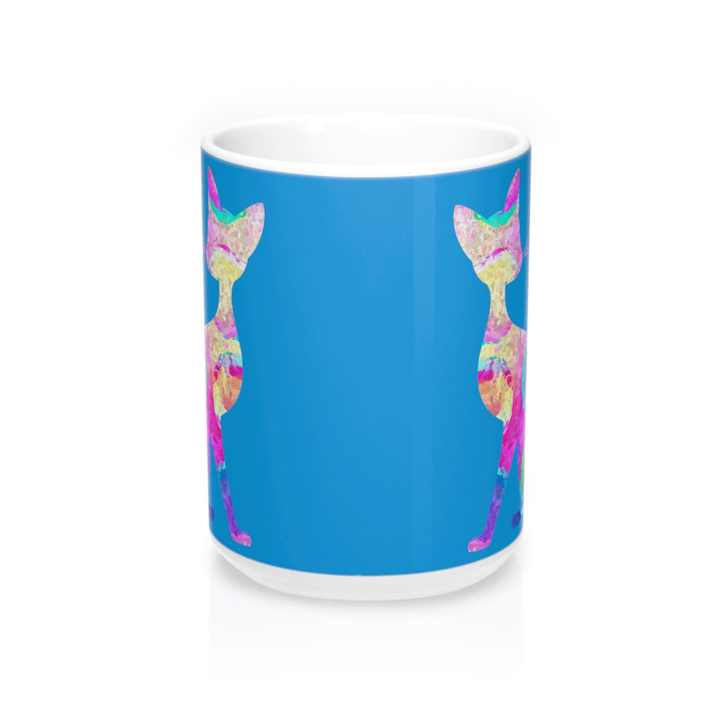 Abstract Cat  Mug - Zuzi's