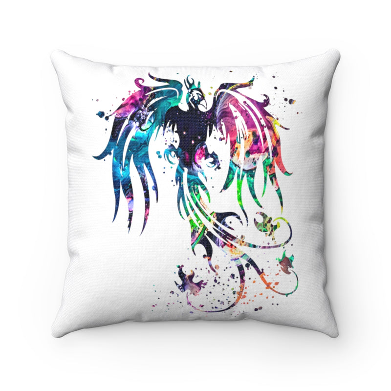 Phoenix Bird Square Pillow - Zuzi's