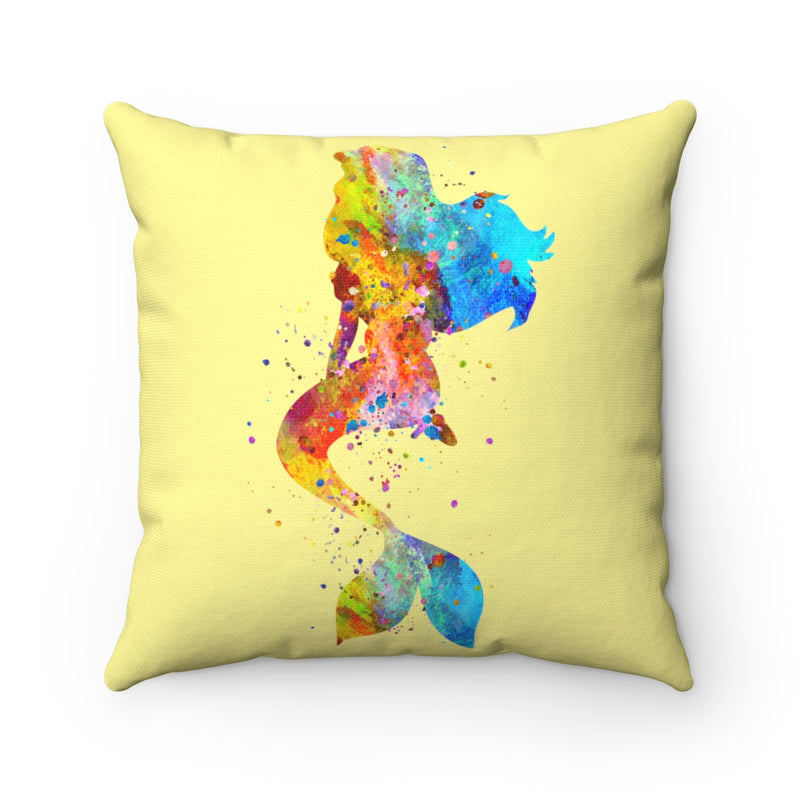 Mermaid Square Pillow - Zuzi's