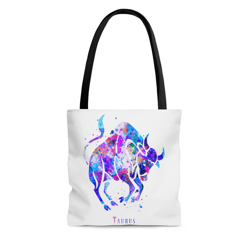 Taurus Zodiac Sign Tote Bag - Zuzi's