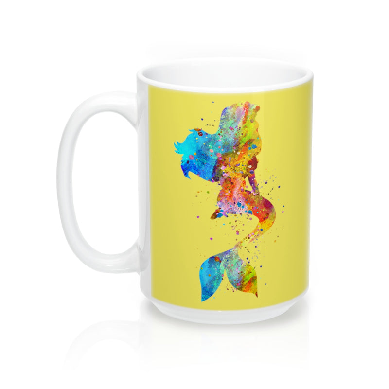 Watercolor Mermaid Mug - Zuzi's