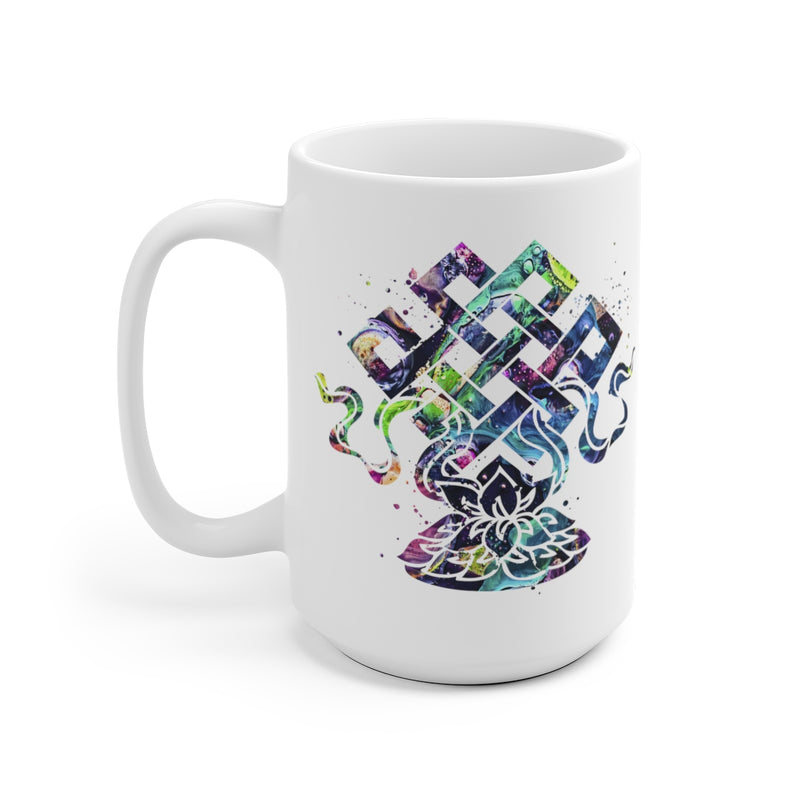 Eternal Knot Mug - 11 oz, 15 oz - Zuzi's