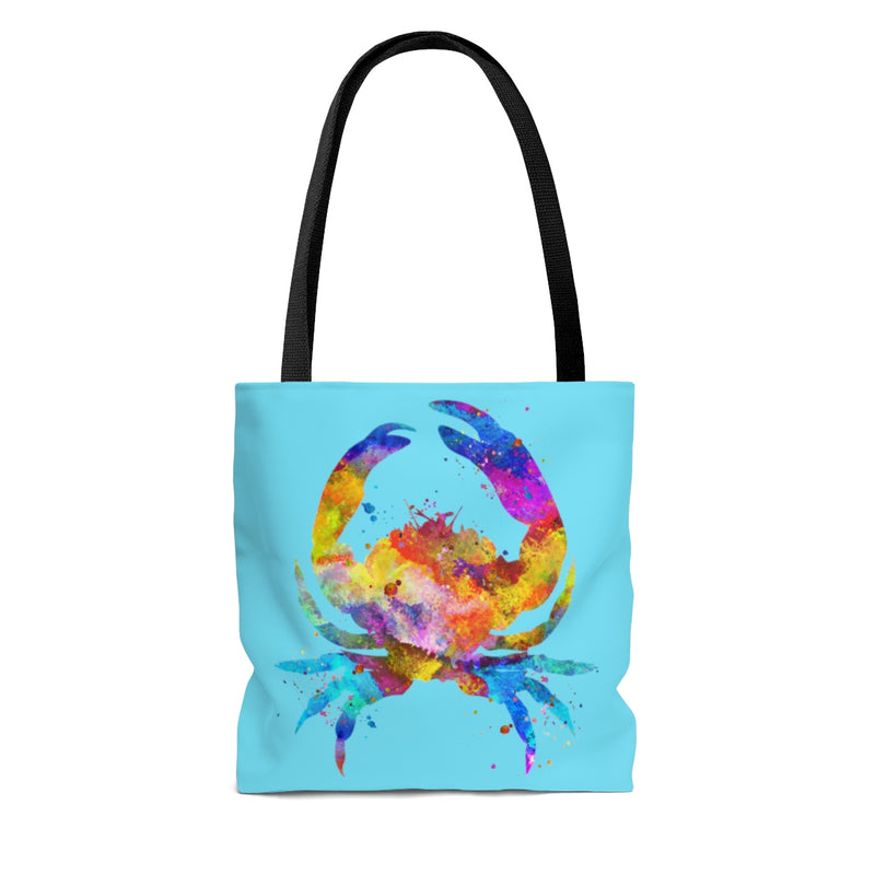 Watercolor Crab Tote Bag - Zuzi's