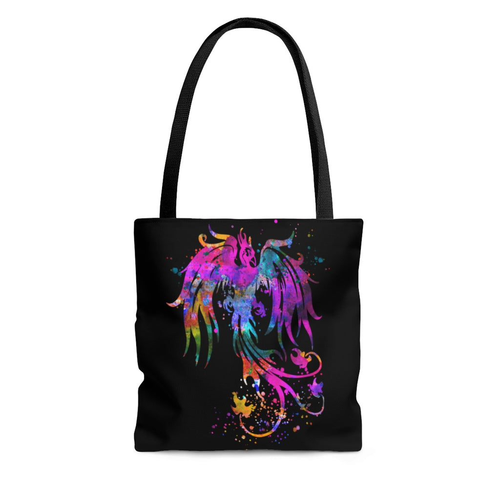 Watercolor Phoenix Bird Tote Bag - Zuzi's